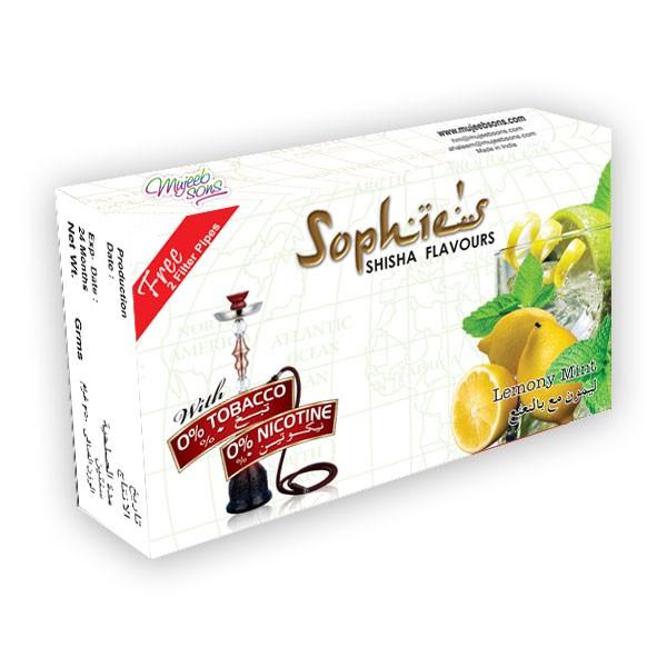 Nargile Arome Sophies Sophies aroma za nargile LEMONY MINT 50gr