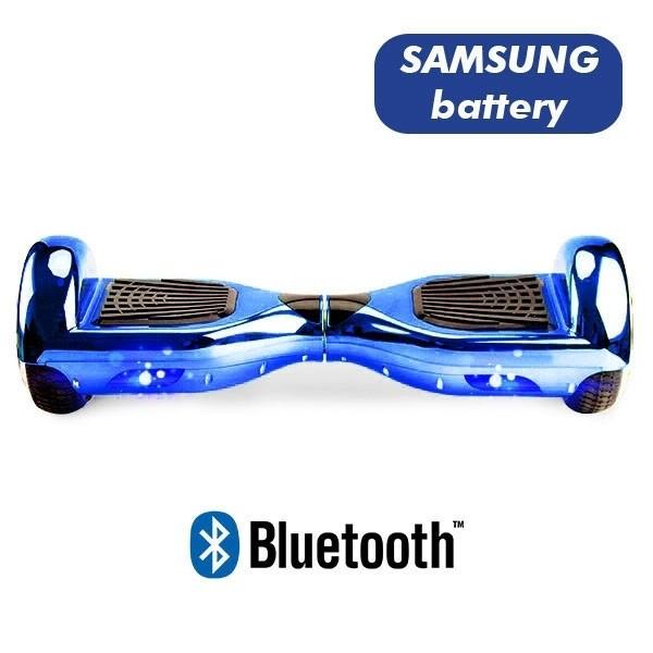 Hoverboard Modeli Koowheel Hoverboard S36 BlueTooth CHROME LIGHT BLUE
