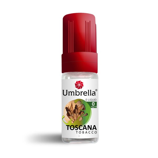Elektronske cigarete Tečnosti Umbrella Umbrella Toscana Tobacco 10ml