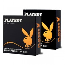 Playboy Kondomi  Playboy kondom Lubricated Ultra Thin - 3 komada