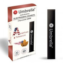 Elektronske cigarete Jednokratne  Jednokratna e-cigareta 320 American Tobacco 20mg
