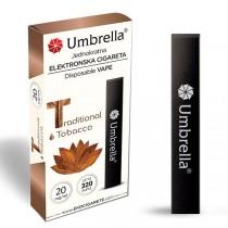 Elektronske cigarete Jednokratne  Jednokratna e-cigareta 320 Traditional Tobacco 20mg