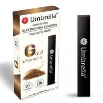 Elektronske cigarete Jednokratne  Jednokratna e-cigareta 320 Gold Tobacco 20mg