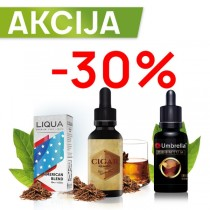 Elektronske cigarete Tečnosti Umbrella Premium AKCIJA 30ML -30%
