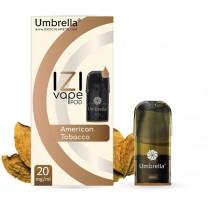 E-cigarete  Umbrella IZI POD American Tobacco