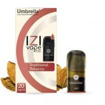 E-cigarete  Umbrella IZI POD Traditional Tobacco