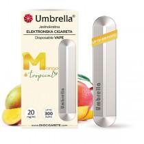 E-cigarete  Jednokratna e-cigareta Mango Tropical 20mg