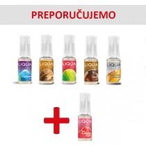 Elektronske cigarete Tečnosti  Liqua Elements tečnosti 10ml 5 + 1 gratis