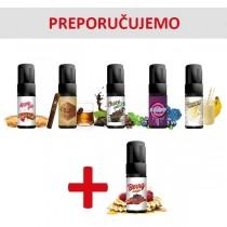 Elektronske cigarete Tečnosti Umbrella Premium Umbrella Premium tečnosti 10ml 5 + 1 gratis