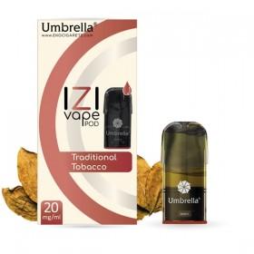 Elektronske cigarete IZI VAPE POD  Umbrella IZI POD Traditional Tobacco
