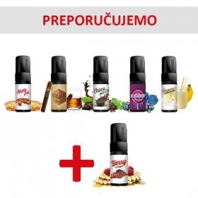 Elektronske cigarete Tečnosti  Umbrella Premium tečnosti 10ml 5 + 1 gratis