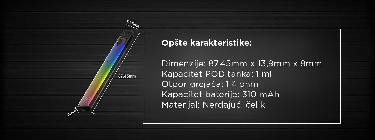 Umbrella FIT POD elektronska cigareta