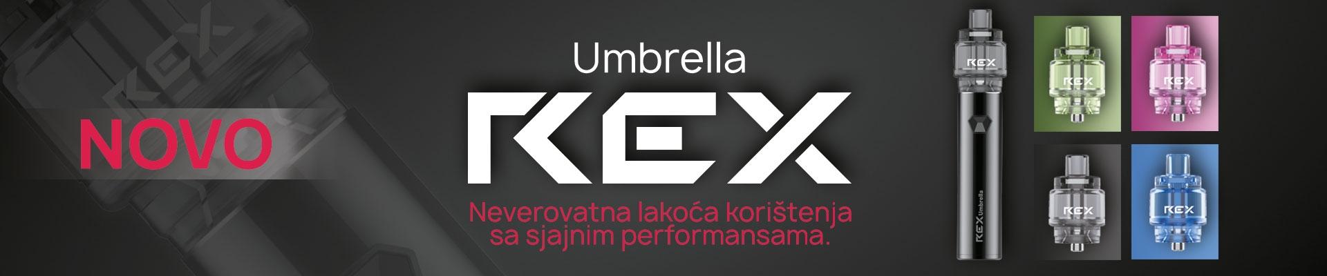 Umbrella REX elektronska cigareta