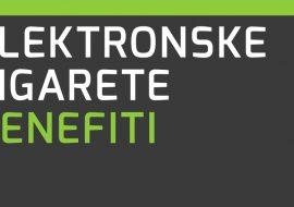 Benefiti elektronskih cigareta